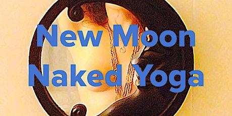 New Moon Naked Yoga via Zoom tickets