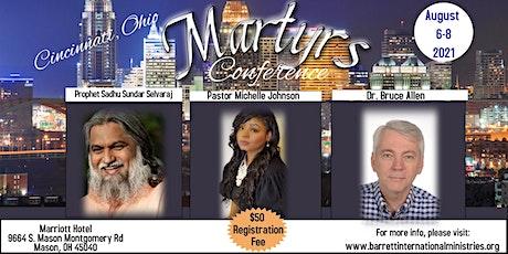 Cincinnati Martyrs Conference tickets
