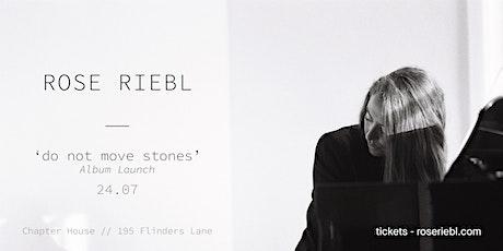 12/02 - ROSE RIEBL :: 'DO NOT MOVE STONES' :: ALBUM LAUNCH tickets