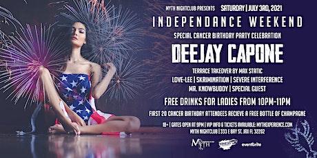 Saturday Night - INDEPENDANCE WEEKEND at Myth Nightclub | Saturday 07.03.21 tickets