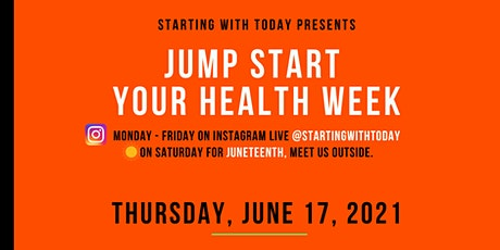 Jump Start Your Health Week- Mind, Body, & Soul tickets