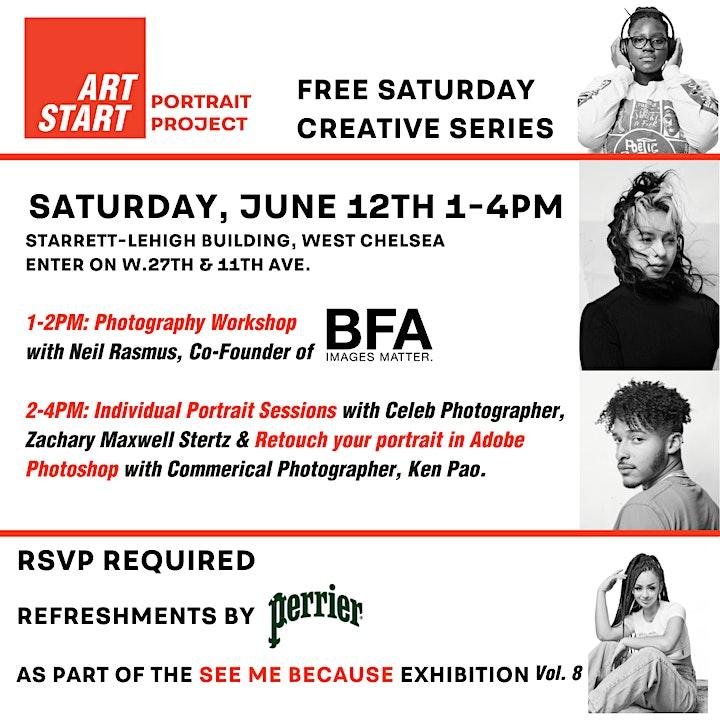 Art Start: See Me Because Vol 8, NYC image