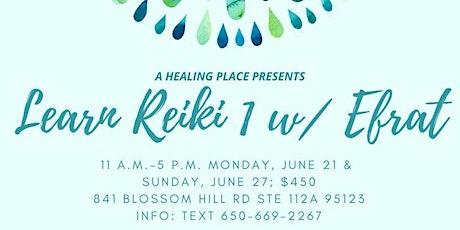 Reiki 1 Workshop with Efrat tickets