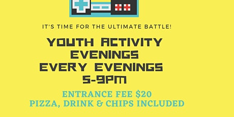 Summer Youth Activity Evenings tickets