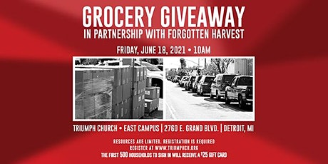 Triumph Church Grocery Giveaway (JUNE 18, 2021) tickets