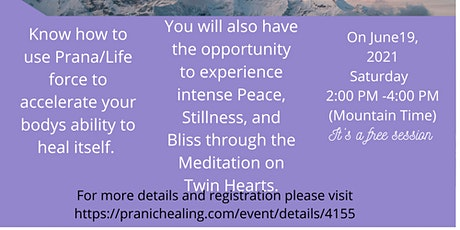Introduction to Pranic Healing® via Zoom | Online tickets