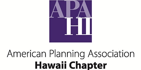 APA-HI Lunch Talk:  Hawai'i County's Kīlauea Recovery and Resilience Plan tickets