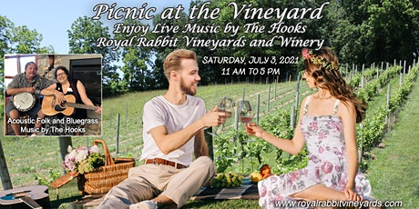 Picnic At the Vineyard With Music by the Hooks tickets