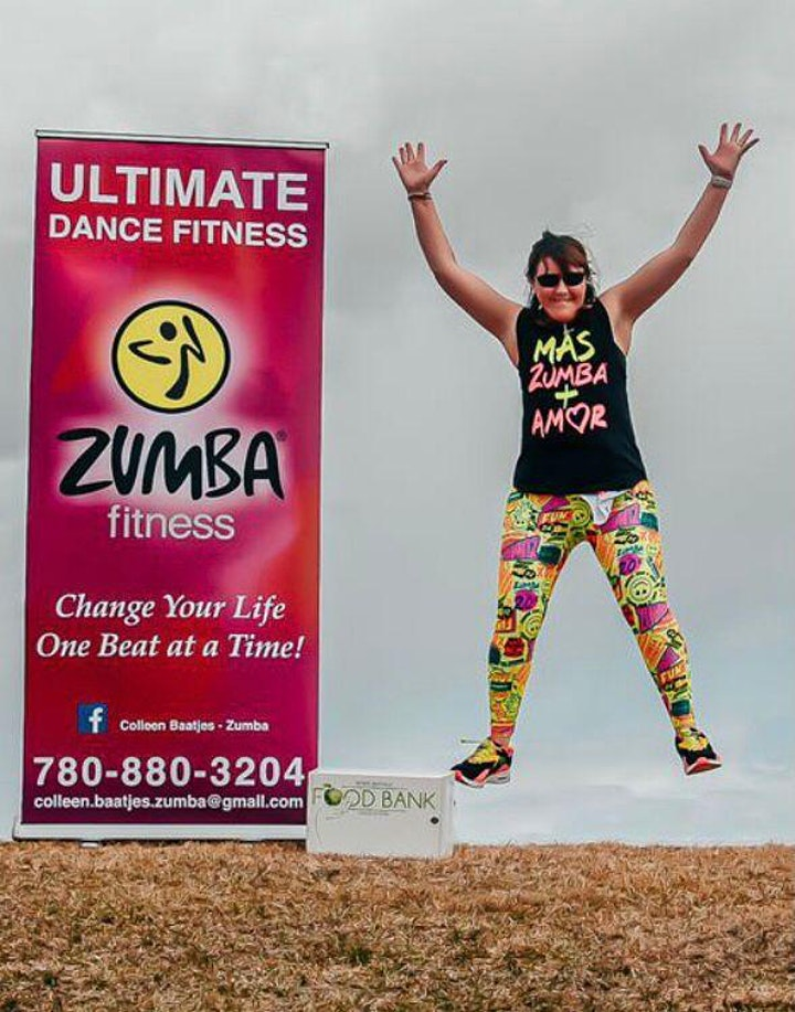 Outdoor Zumba in Support of the Food Bank! image