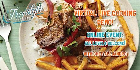 Virtual Cooking Demo (en español) entradas