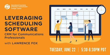 Leveraging Scheduling Software: CRM for Communications Professionals tickets