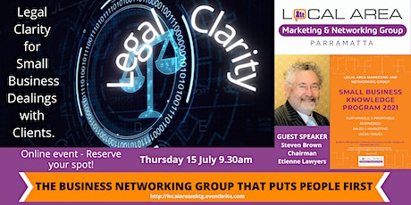 Parramatta: Legal Clarity for Small Business Dealings with Clients. tickets