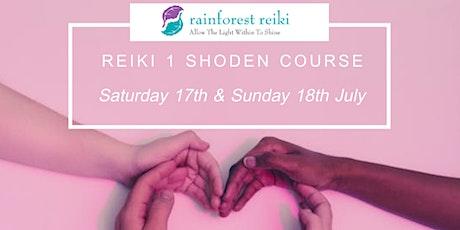 Reiki 1 Shoden Course tickets