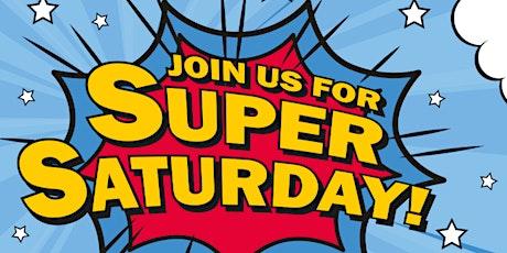 August Super Saturday tickets