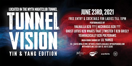 Brass Knuckle Booking Presents: Tunnel Vision (Yin & Yang)   6.23.21 tickets