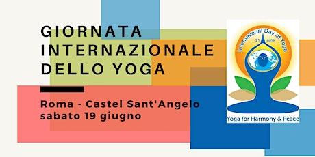 Giornata Internazionale dello Yoga a Roma biglietti