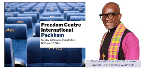 FCI Peckham - Sunday 8:30am Service - 13th June tickets