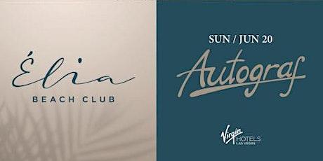 6.20 Autograf Pool Party @ Elia Beach Club Pool Party Las Vegas tickets