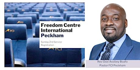 FCI Peckham - Sunday 10:30am  Service - 13th  June tickets
