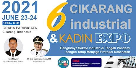 The 6th Cikarang Industrial Expo (CIE 2021) tickets