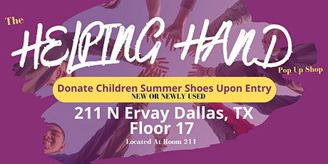 The Helping Hand Pop Up Shop tickets
