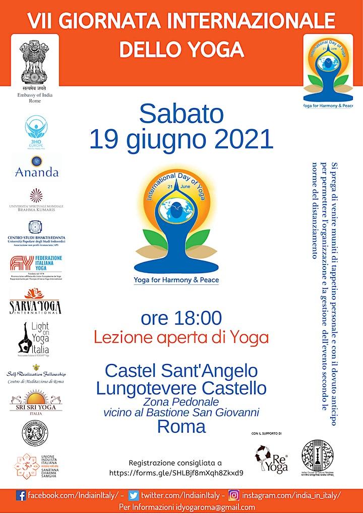 Immagine Giornata Internazionale dello Yoga a Roma