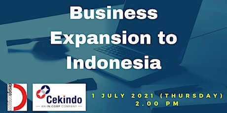 Market Entry Series : Business Expansion to Indonesia tickets