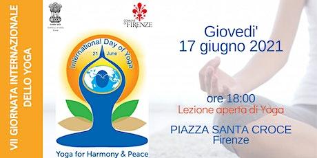 Giornata Internazionale dello Yoga a Firenze biglietti