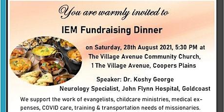 IEM Fundraising Dinner tickets