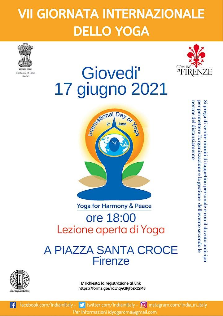 Immagine Giornata Internazionale dello Yoga a Firenze