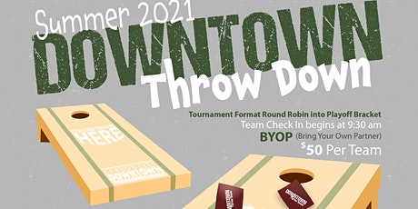 Downtown Throw Down tickets