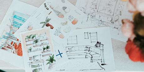 Interior Sketching Taster Course with BehindCanvas tickets