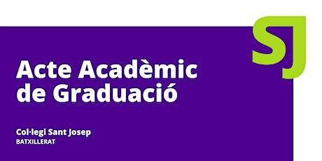 Acte Acadèmic de Graduació [Batxillerat] entradas