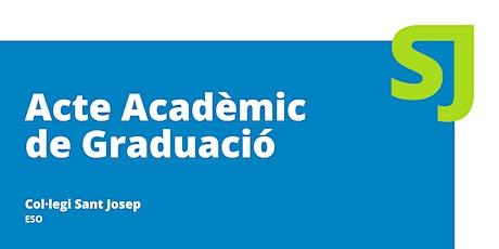 Acte Acadèmic de Graduació [Educació Secundària] entradas
