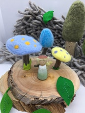 Family Needle Felting Workshop - Huon Pine Fairy/Elf Garden tickets