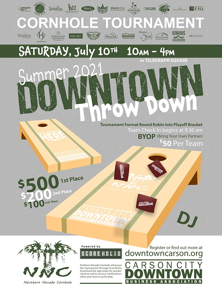 Downtown Throw Down image