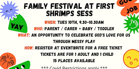 Family Festival at First Shrimps Sess tickets