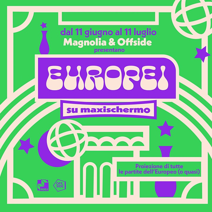 Immagine Magnolia & Offside presentano Gli Europei | INGHILTERRA • SCOZIA