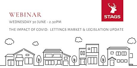 Stags Webinar: Impact of Covid - Lettings Market & Legislation Update tickets