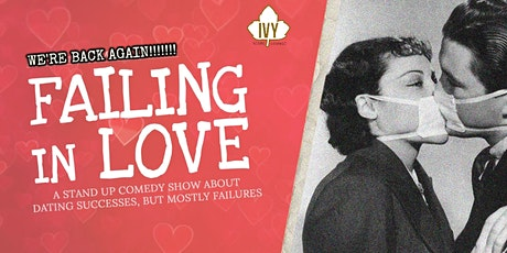 FAILING IN LOVE • Stand Up Comedy in English tickets