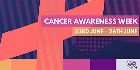 Cancer Awareness Week tickets