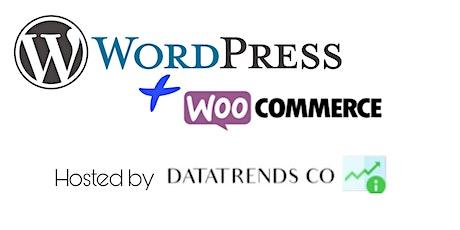 Build your eCommerce Wordpress Website  by DataTrends tickets