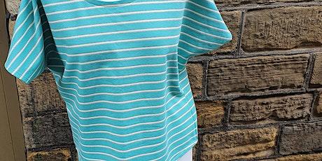 Striped T Shirt - Stretch Workshop - School of Sew tickets