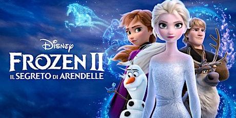 Frozen 2  - ingresso € 3 (gratuito per i minori di 12 anni) biglietti