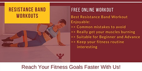 Resistance Band Workouts tickets