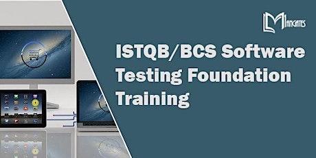 ISTQB/BCS Software Testing Foundation 3 Days Training in Saltillo tickets
