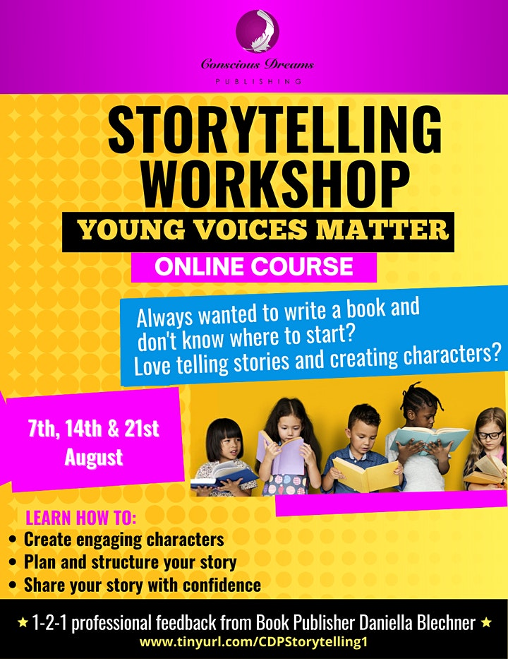 Storytelling Workshop: Young Voices Matter image