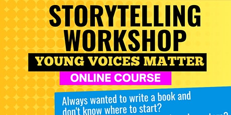 Storytelling Workshop: Young Voices Matter tickets