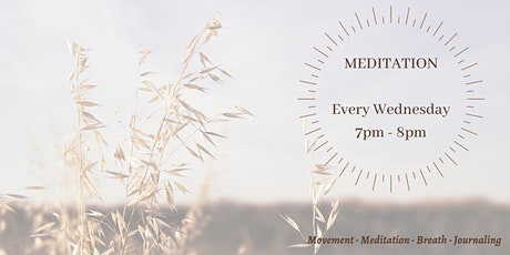 Weekly Meditation Classes tickets