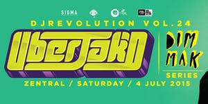DJ Revolution X Dim Mak Records Vol.2 Uberjak'd